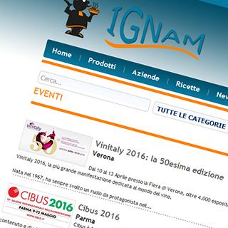 Ignam: amore per la buona cucina, competenza e professionalità al tuo servizio…GRATIS!