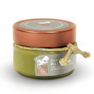Crema spalmabile dolce di pistacchio verde di Bronte DOP 100 g