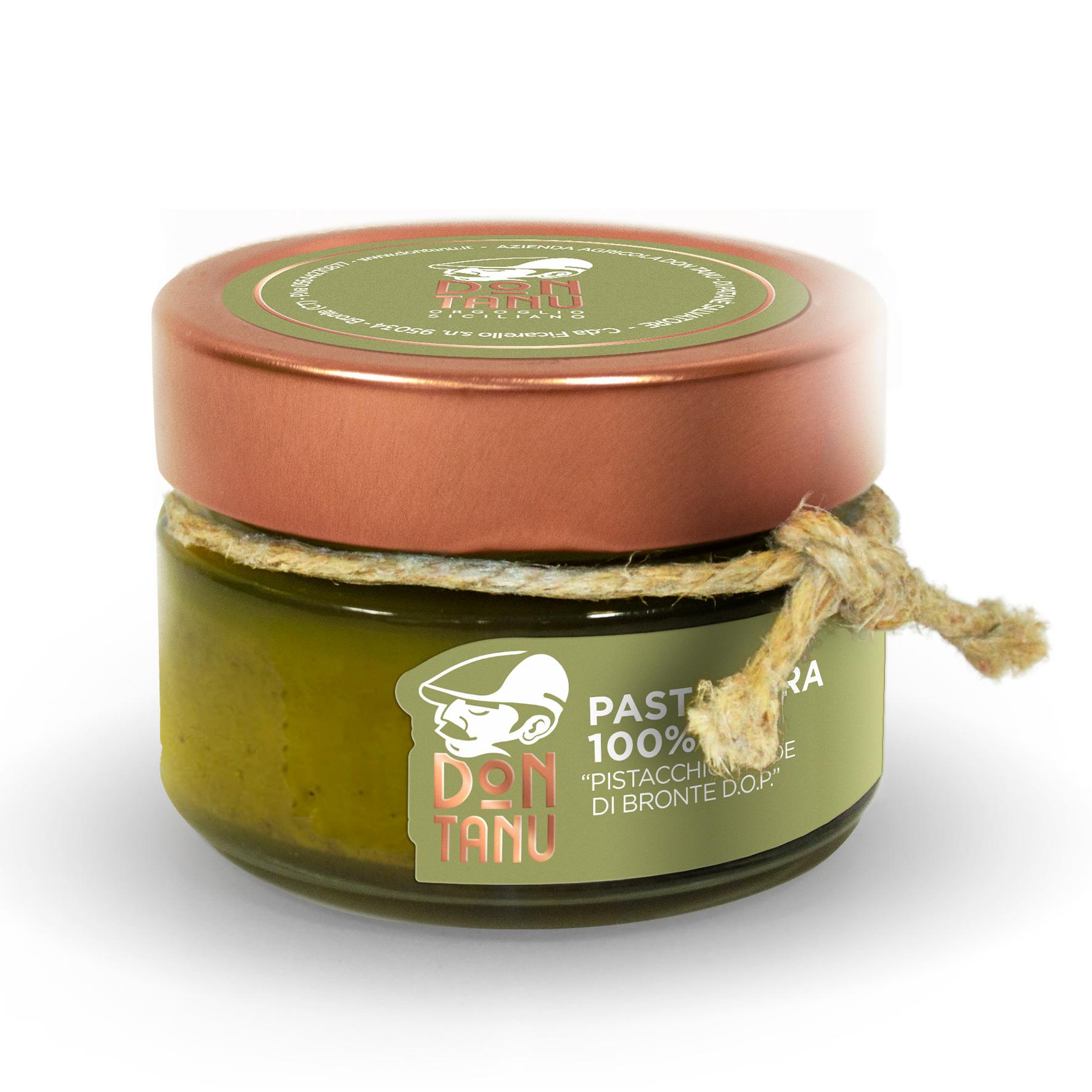Pasta pura di pistacchio verde di Bronte DOP 100 g