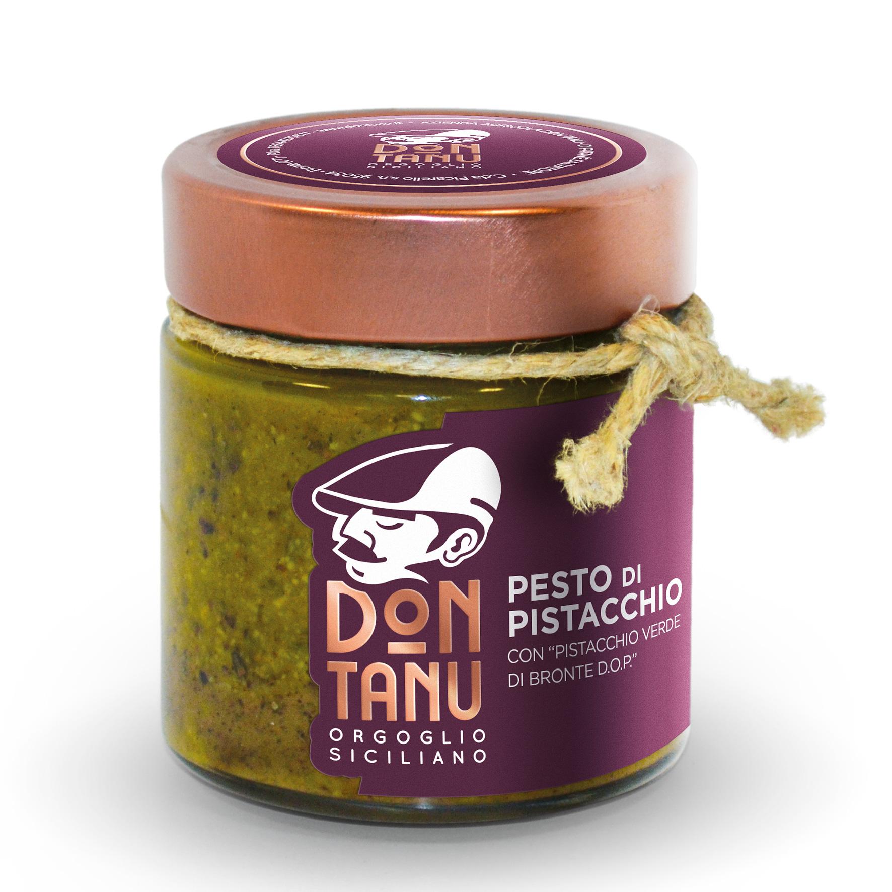 Pesto di pistacchio verde di Bronte DOP 190 g